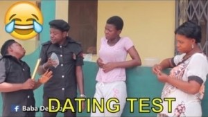 Video: Nigerian Comedy Clips - Dating Test